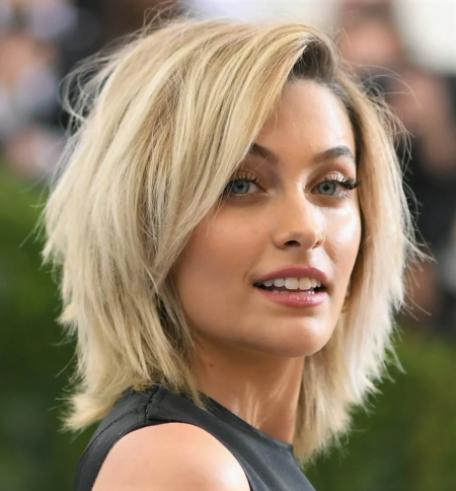 итальянский боб на средние волосы